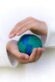 Het beschermen van de Planeet Stock Afbeelding