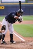 Het beslag Jorge Vasquez van de Yankees van de Staaf van Wilkes van Scranton royalty-vrije stock foto's