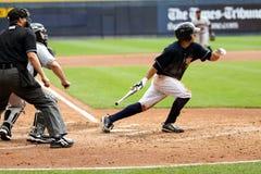 Het beslag Kevin Russo van de Yankees van de Staaf van Wilkes van Scranton royalty-vrije stock afbeelding