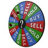 Het besluithulpmiddel van de investering Stock Foto's