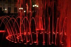 Het bespatten van de fontein Stock Afbeelding
