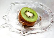 Het Bespatten van de kiwi Royalty-vrije Stock Foto