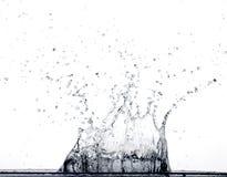 Het Bespatten van het water Stock Foto