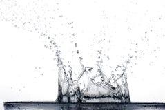 Het Bespatten van het water stock foto's