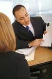 Het bespreken van Overeenkomst Stock Foto's