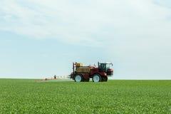 Het bespuiten van de herbiciden Royalty-vrije Stock Foto