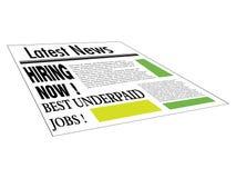 Het best onderbetaalde banen Stock Foto's