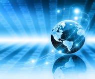 Het beste Concept van Internet globale zaken Bol Stock Afbeeldingen