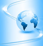 Het beste Concept van Internet globale zaken Bol Royalty-vrije Stock Afbeeldingen