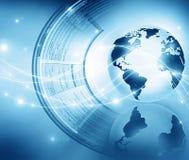 Het beste Concept van Internet globale zaken Bol Stock Fotografie
