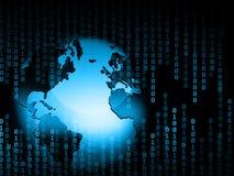 Het beste Concept van Internet globale zaken Bol Stock Foto's
