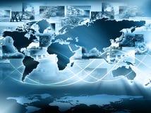 Het beste Concept van Internet globale zaken van conceptenreeks Royalty-vrije Stock Fotografie
