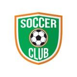 Het beste embleem van de voetbalclub royalty-vrije illustratie