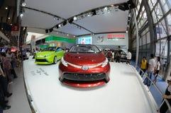 Het beste paviljoen van Toyota Stock Fotografie
