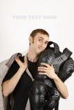 het beste van beschermende kostuumfietsers choise Stock Afbeeldingen