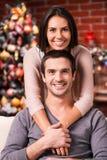 Het besteden Kerstmis samen Royalty-vrije Stock Foto