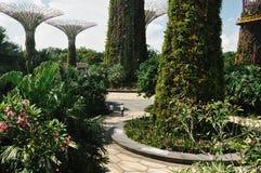 Het besteden Tijd bij Tuin door de Baai Stock Fotografie