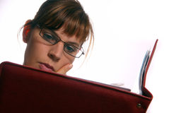 Het bestuderen Stock Foto's
