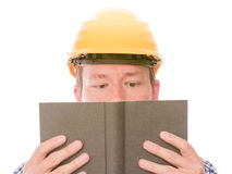 Het bestuderen van bouwvakker Royalty-vrije Stock Afbeelding