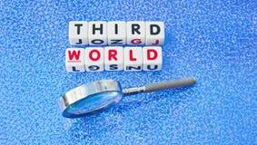 Het bestuderen van de derde wereld Stock Afbeeldingen
