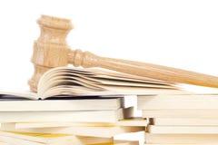 Het bestuderen van jurisprudentie Stock Fotografie