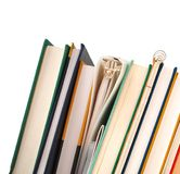 Het bestuderen van schoolmaterialen Royalty-vrije Stock Foto