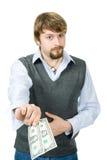 Het betalen, het tippen, het schenken Royalty-vrije Stock Afbeelding