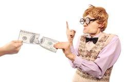 Het betalen van teveel belasting royalty-vrije stock foto's