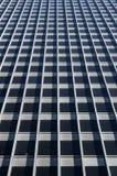 Het beton glas-windowed muur Royalty-vrije Stock Foto
