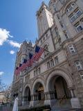 Het betwiste Troef Internationale Hotel in Washington, D C royalty-vrije stock foto