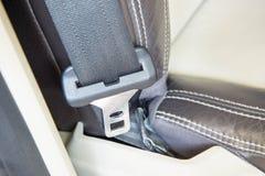Het bevestigingsmiddelhoofd van de autoveiligheidsgordel royalty-vrije stock fotografie