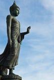 Het bevindende standbeeld van Boedha Stock Afbeelding