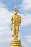 Het bevindende standbeeld van Boedha Stock Fotografie
