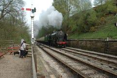 Het Bevlekken van de trein Royalty-vrije Stock Afbeelding