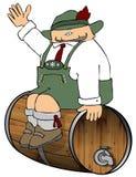 Het bewaken van het Bier Royalty-vrije Stock Foto's