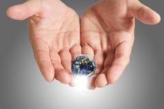 Het bewaren van de aarde Stock Foto