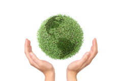 Het bewaren van groene planeet Royalty-vrije Stock Fotografie
