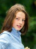Het bewegen zich in volwassenheid Openlucht Portret van Tiener royalty-vrije stock afbeeldingen