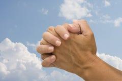 Het bidden Royalty-vrije Stock Afbeeldingen