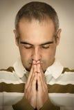 Het bidden Stock Afbeeldingen