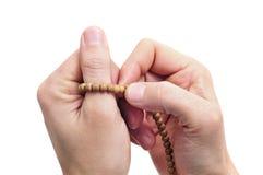 Het bidden Stock Foto