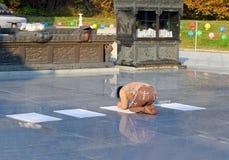 Het bidden Stock Afbeelding