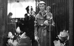Het bidden aan de Heilige Stock Fotografie