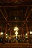 Het bidden in de moskee Royalty-vrije Stock Foto