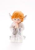 Het bidden engel Stock Afbeeldingen