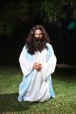 Het bidden in Gethsemane stock afbeeldingen