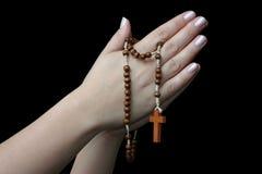Het bidden handen #3 Royalty-vrije Stock Foto's