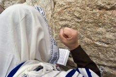 Het bidden hassid Stock Afbeeldingen