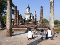 Het bidden in Thailand Royalty-vrije Stock Afbeeldingen