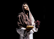 Het bidden van Jesus-Christus Royalty-vrije Stock Afbeelding